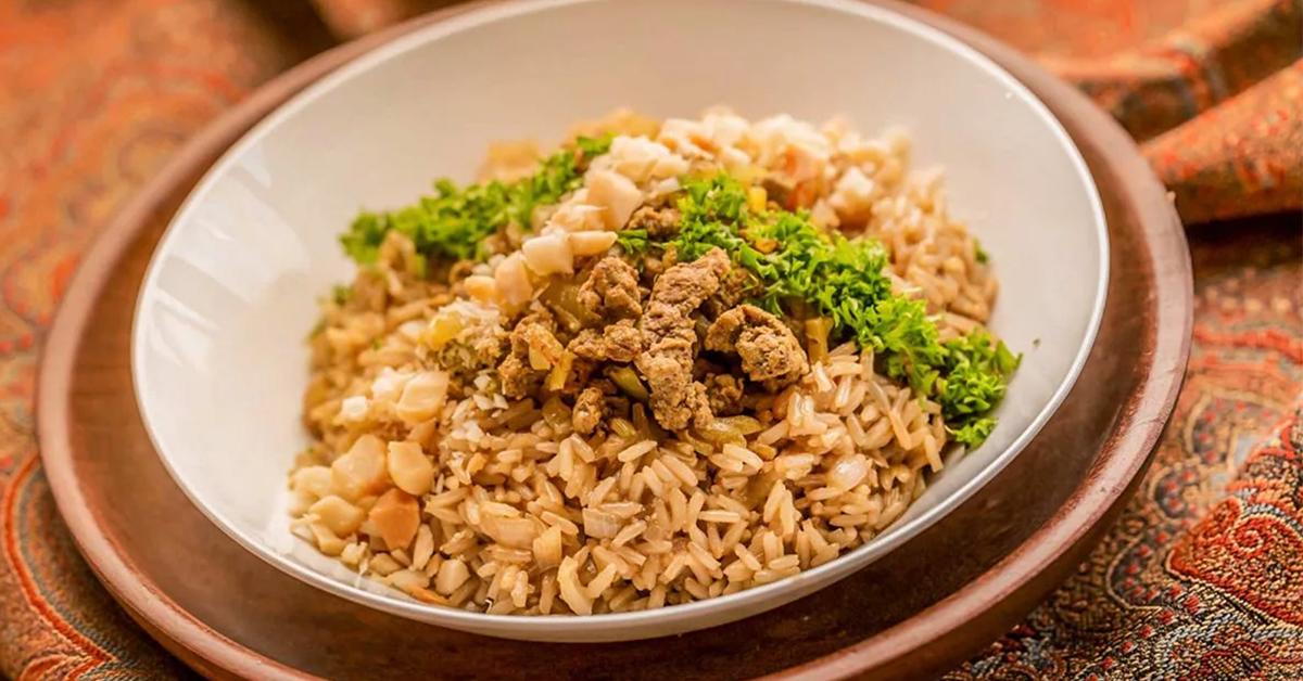 Bosto - Pilav, pilau, recept, koken, rijst