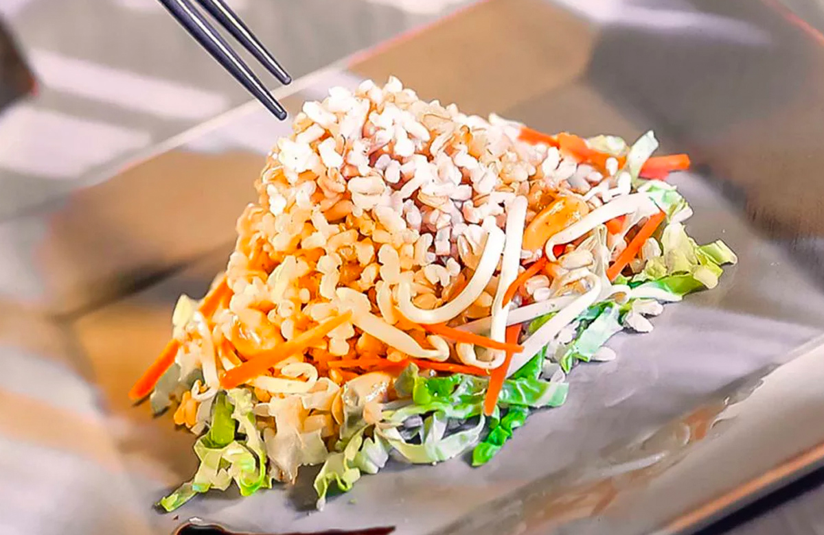 Bosto, Salade de riz, soja, recettes bosto