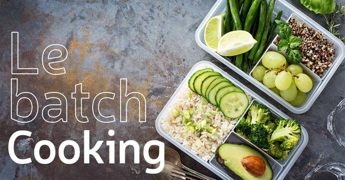 Bosto, le batch cooking , temps, riz